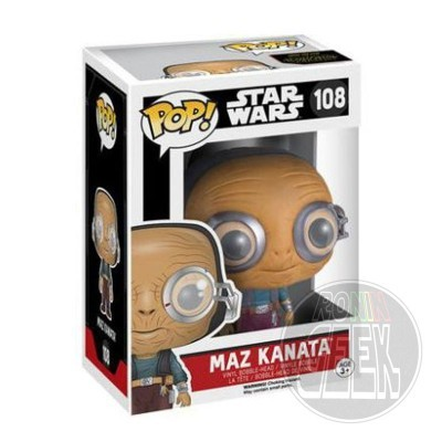 Funko POP! Star Wars Epi. VII - Maz Kanata