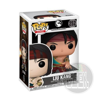 FUNKO POP! Games: Mortal Kombat - Liu Kang
