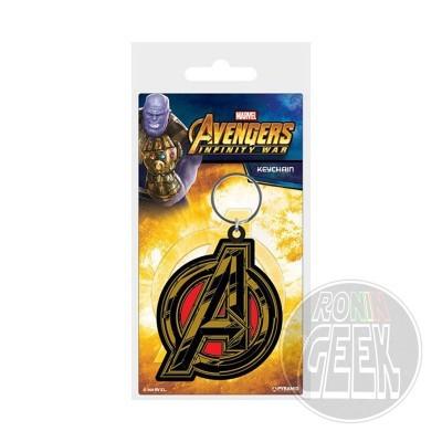Avengers Infinity War Rubber Keychain Avengers Symbol