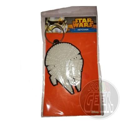 Star Wars Rubber Keychain Millennium Falcon