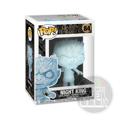 FUNKO POP! Television: Game of Thrones - Crystal Night King with Dagger in Chest