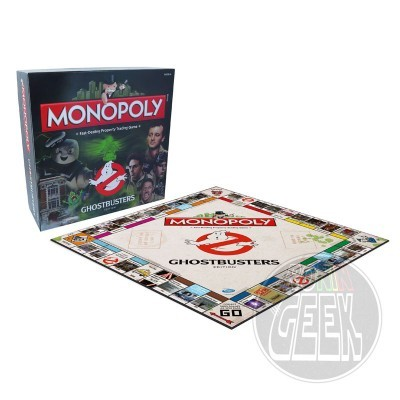 HASBRO Monopoly: Ghostbusters Edition