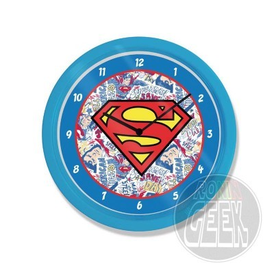 Relógio de Parede Logo Superman