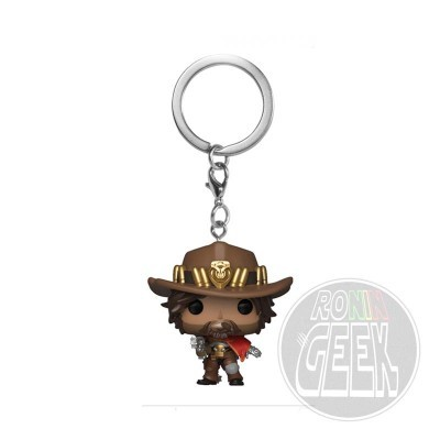 FUNKO POP! Keychain: Overwatch - McCree