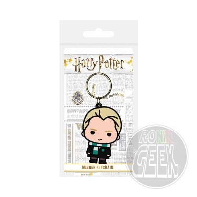Harry Potter Draco Malfoy rubber keychain