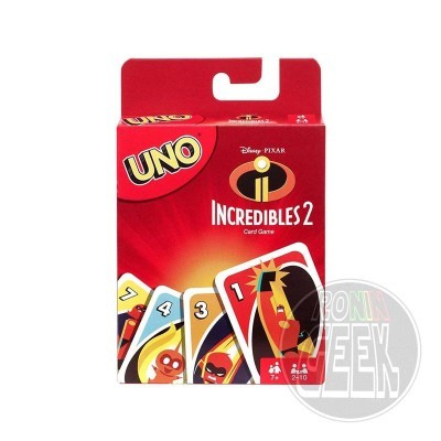 Incredibles 2 UNO Card Game