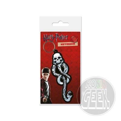 Harry Potter Rubber Keychain Dark Mark