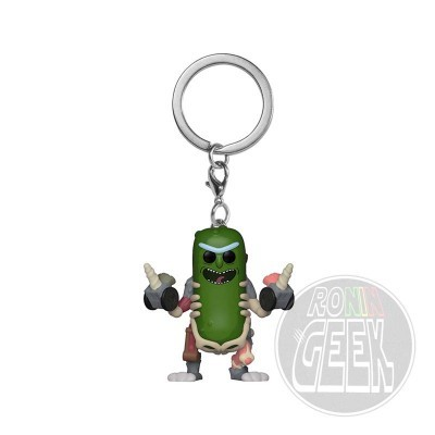 FUNKO POP! Keychain: Rick and Morty - Rick in Rat Suit