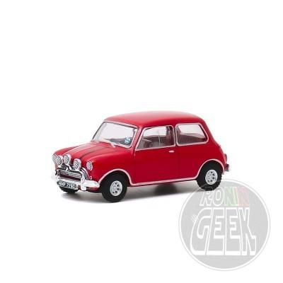 GREENLIGHT COLLECTIBLES The Italian Job - 1967 Austin Mini Cooper S 1275 MkI red 1/64