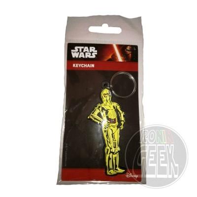 Star Wars Rubber Keychain C-3PO