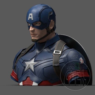 Mealheiro Marvel Comics - Captain America