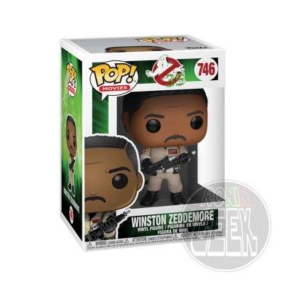 FUNKO POP! Movies: Ghostbusters - Winston Zeddemore