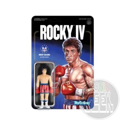 SUPER 7 ReAction Rocky 4 Action Figure - Rocky