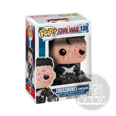 FUNKO POP! Marvel Captain America Civil War - Crossbones (Unmasked)