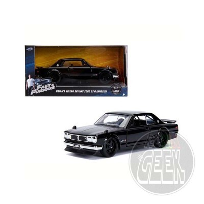JADA Fast & Furious Diecast Model 1/32 2002 Nissan Skyline 2000 GT-R (C10)