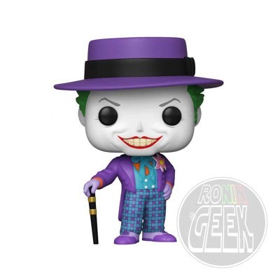 FUNKO POP! Heroes: Batman (1989) - Joker w/ Hat