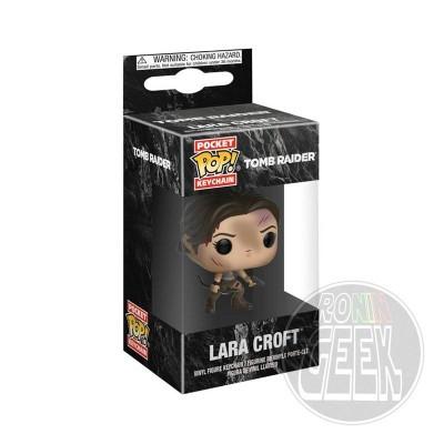 FUNKO POP! Keychain: Tomb Raider - Lara Croft