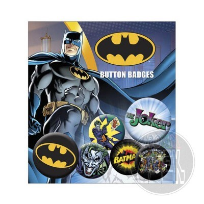 DC Comics Pin Badges 6-Pack Batman & Joker
