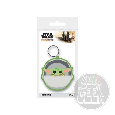 Star Wars: Mandalorian - Rubber Keychain (The Child)