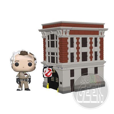 FUNKO POP! Town: Ghostbusters - Peter Venkman with Firehouse