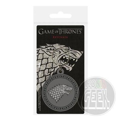 Game of Thrones Rubber Keychain Stark