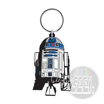 Star Wars Rubber Keychain R2-D2