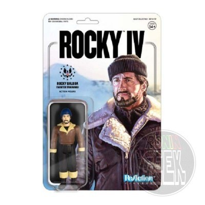 SUPER 7 ReAction Rocky 4 Action Figure - Rocky (Winter Training)