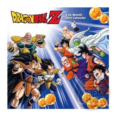 Calendário 2021 - Dragonball Z
