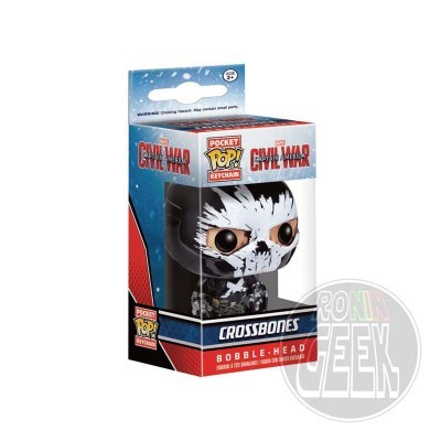 FUNKO POP! Keychain: Captain America Civil War - Crossbones