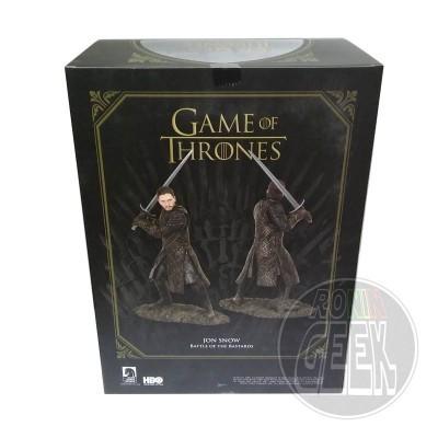 DARK HORSE Game of Thrones PVC Statue Jon Snow Battle of the Bastards