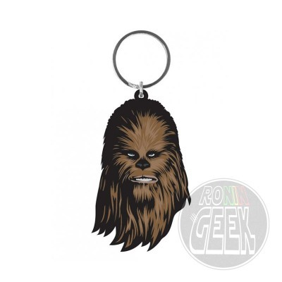 Star Wars Rubber Keychain Chewbacca