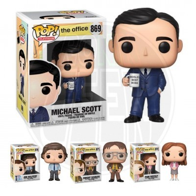 PRÉ-VENDA FUNKO POP! Television: The Office