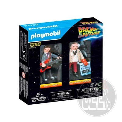 Playmobil 70459: Back to the Future - Marty Mcfly e Dr. Emmett Brown