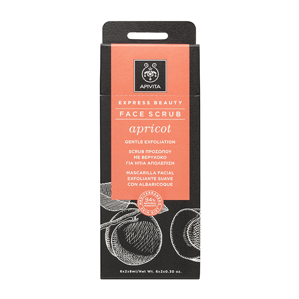 Apivita | Express Beauty Creme Esfoliante Suave Alperce