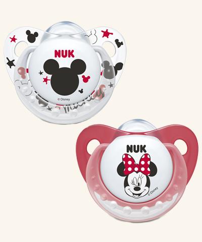 NUK   Chupeta Minnie Mouse (Látex, 6-18m) x 2