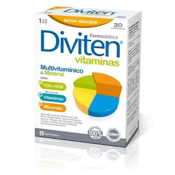 Diviten | Vitaminas 30 Comprimidos