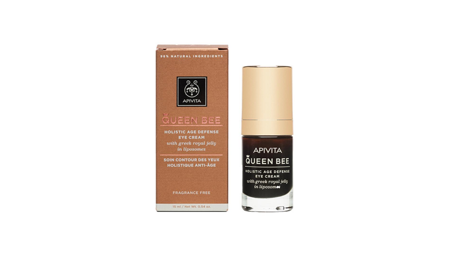 Apivita   Queen Bee Creme de Olhos Antienvelhecimento 15ml