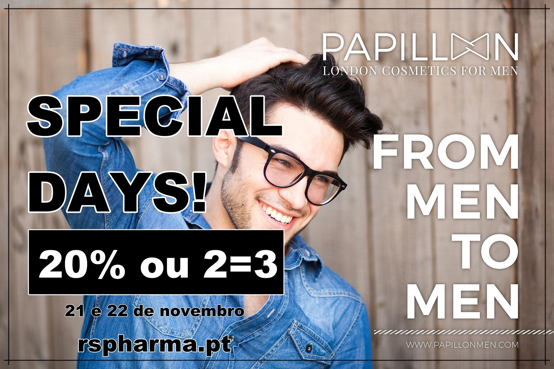 "PAPILLON - ""Special Days"" na RS pharma!"