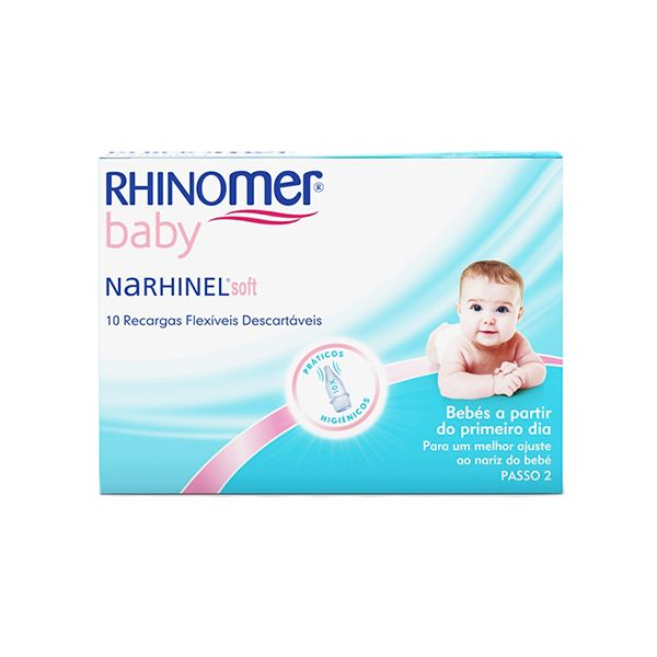 Rhinomer Baby   Narhinel Soft Recargas Flexíveis x 10