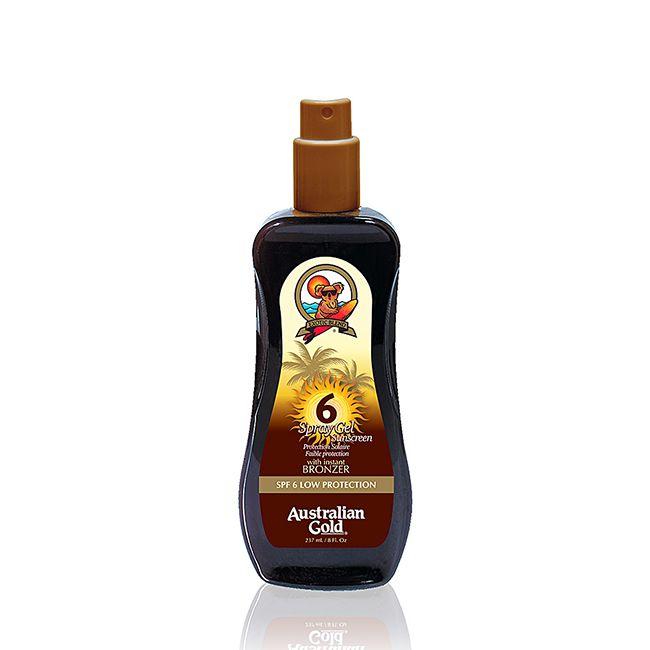Australian Gold | Sunscreen Spray Gel SPF6