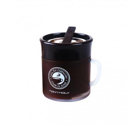 Tonymoly | Latte Art Capuccino Cream In Scrub
