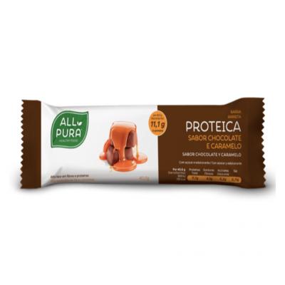 ALLPURA | Barra Proteica Chocolate e Caramelo