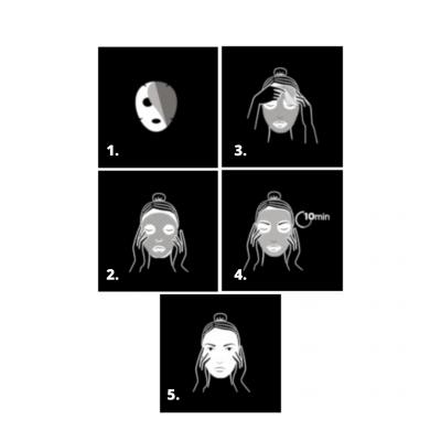 Apivita | Express Beauty Máscara Rosto Tecido Abacate
