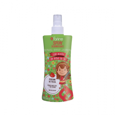 Farline | Spray Desembaraçante Infantil 250ml