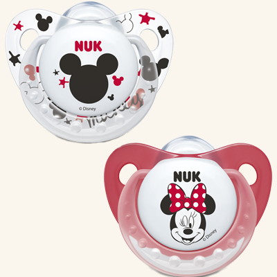 NUK | Chupeta Minnie Mouse (Látex, 6-18m) x 2