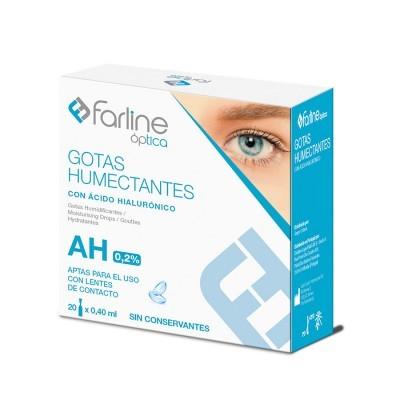 Farline   Gotas Humectantes AH 0.2% (20 x 0.40ml)