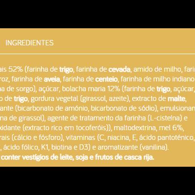 Nutribén | 8 Cereais e Mel Bolacha Maria 300g