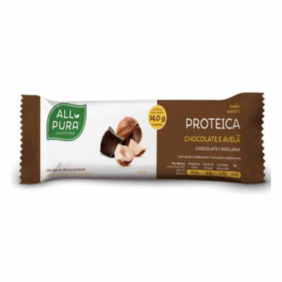 ALLPURA | Barra Proteica Chocolate e Avelã