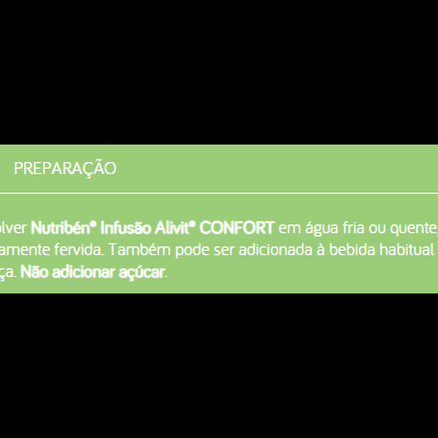 Nutribén | ALIVIT CONFORT 150g