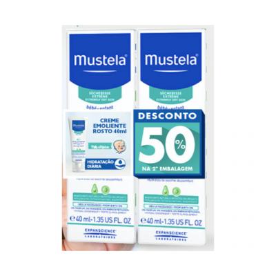 Mustela | STELATOPIA Creme Rosto Emoliente 40ml (Pack 50% 2ª Embalagem)